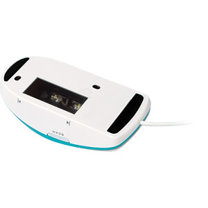 Maus-Scanner, USB, weiß-blau IRIS 458075