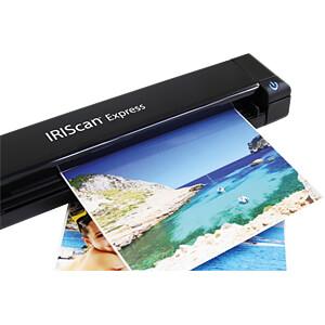 Mobiler Scanner, 8 S/min, schwarz IRIS 458510