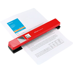 Mobiler Scanner mit Display, 12 S/min, rot IRIS 458843