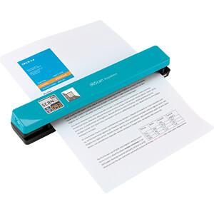 Mobiler Scanner mit Display, 12 S/min, türkis IRIS 458845