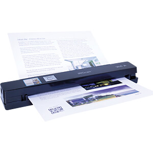 Mobiler Scanner, Display, WLAN, 12 S/min, schwarz IRIS 458846