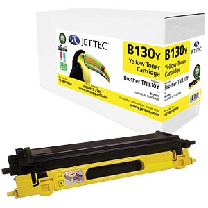 Toner - Brother - gelb - TN130Y - rebuilt JET TEC B130Y