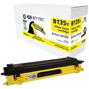 Toner - Brother - yellow - TN-135 - compatible JET TEC B135Y