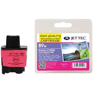 Tinte - Brother - magenta - LC900 - refill JET TEC B9M