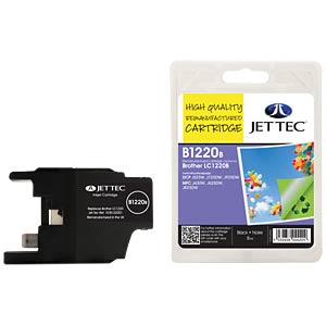 Ink - Brother - black - LC1220 - refill JET TEC B1220B