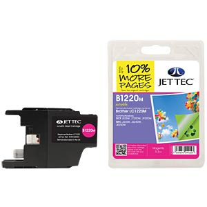 Ink - Brother - magenta - LC1220 - refill JET TEC B1220M
