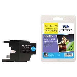 Ink - Brother - cyan - LC1240 - refill JET TEC B1240C