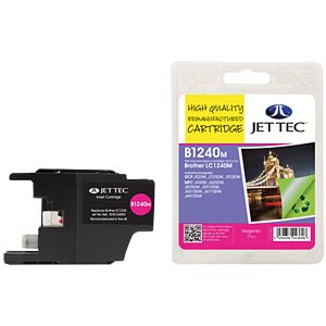 Tinte - Brother - magenta - LC1240 - refill JET TEC B1240M