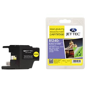 Ink - Brother - yellow - LC1240 - refill JET TEC B1240Y