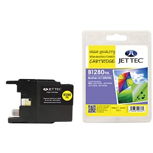 Tinte - Brother - gelb - LC1280XL - refill JET TEC B1280Y