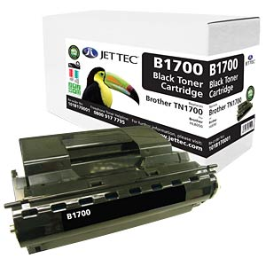 Toner - Brother - schwarz - TN1700 - rebuilt JET TEC B1700
