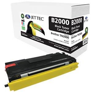Toner - Brother - black - TN2000 - compatible JET TEC B2000
