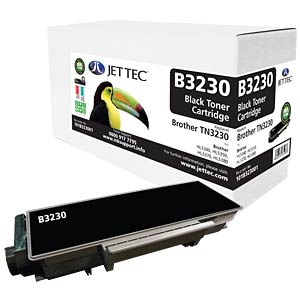 Toner - Brother - black - TN3230 - compatible JET TEC B3230