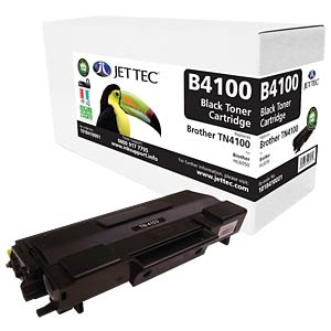 Toner - Brother - schwarz - TN4100 - rebuilt JET TEC B4100