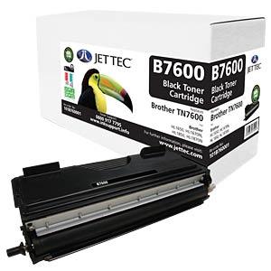 Toner - Brother - black - TN7600 - compatible JET TEC B7600