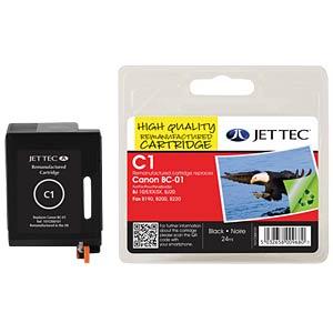 Tinte, schwarz - BC-01 - refill JET TEC C1