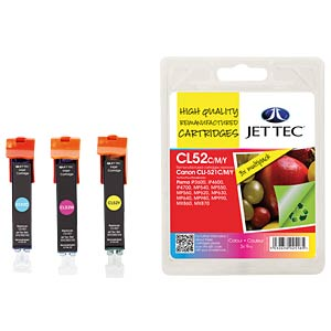 Ink - Canon - MP - CLI-521 - refill JET TEC CL52CMY