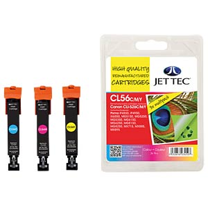Ink - Canon - MP - CLI-526 - refill JET TEC CL56CMY