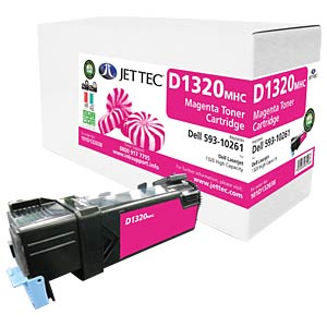 Toner - Dell - yellow - 10261 - compatible JET TEC D1320MHC