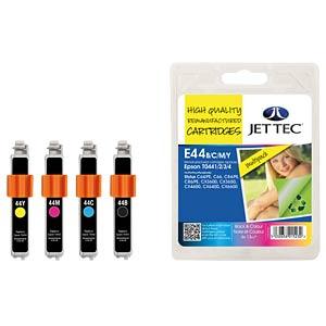 Tinte - Epson - MP - T044x - refill JET TEC E44B/C/M/Y