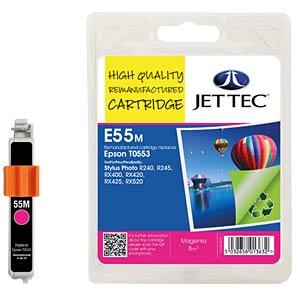Tinte - Epson - magenta - T0553 - refill JET TEC E55M
