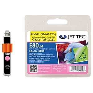 Tinte - Epson - photomagenta - T0806 - refill JET TEC E80LM