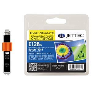 Tinte - Epson - schwarz - T1281 - refill JET TEC E128B