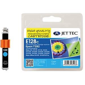 Tinte - Epson - cyan - T1282 - refill JET TEC E128C