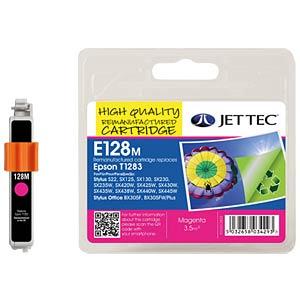 Ink - Epson - magenta - T1283 - refill JET TEC E128M