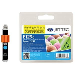 Ink - Epson - cyan - T1292 - refill JET TEC E129C