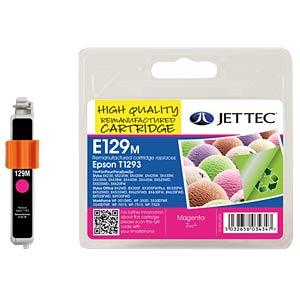 Tinte - Epson - magenta - T1293 - refill JET TEC E129M