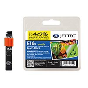 Ink - Epson - black - T1621 - refill JET TEC E16B