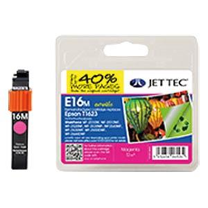 Tinte - Epson - magenta - T1623 - refill JET TEC E16M