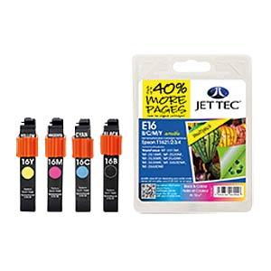 Tinte - Epson - MP - T162x - refill JET TEC E16B/C/M/Y