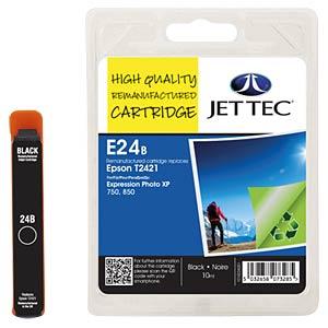 Tinte - Epson - schwarz - T2421 - refill JET TEC E24B
