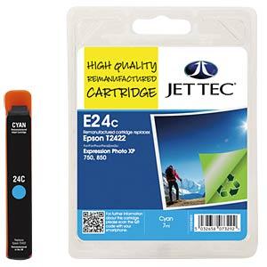 Ink - Epson - cyan - T2422 - refill JET TEC E24C