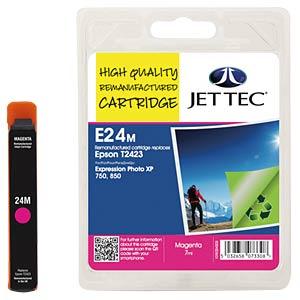 Ink - Epson - magenta - T2423 - refill JET TEC E24M