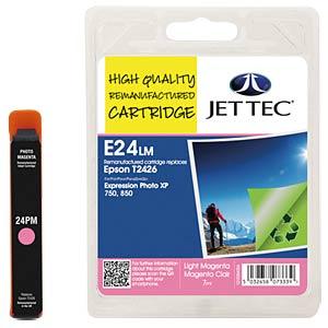 Tinte - Epson - hellmagenta - T2426 - refill JET TEC E24LM