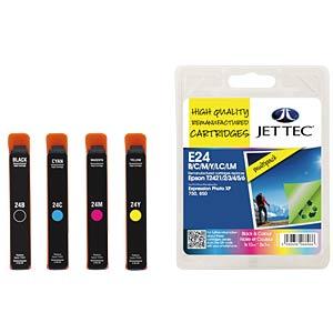 Tinte - Epson - MP - T242x - refill JET TEC E24B/C/M/Y/LC/LM
