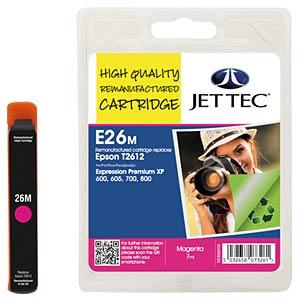 Tinte - Epson - magenta - T2613 - refill JET TEC E26M
