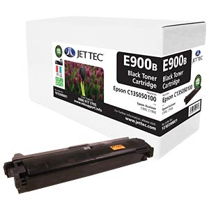 Toner - Epson - schwarz - C13S050100 - rebuilt JET TEC E900B