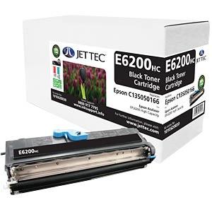 Toner - Epson - schwarz - C13S050166 - rebuilt JET TEC E6200HC