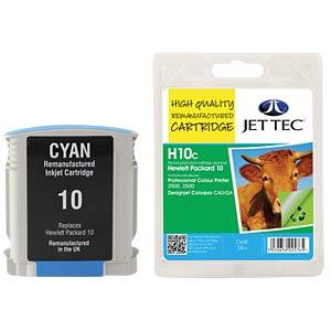 Cartouche d'encre, HP, cyan, 10, recharge JET TEC H10C