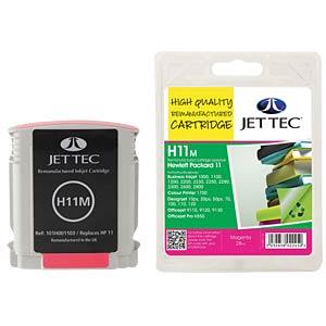 Kleur - HP - magenta - 11 - navulling JET TEC H11M