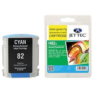Ink - HP - cyan - 82 - refill JET TEC H82C