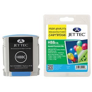 Tinte - HP - cyan - 88 - refill JET TEC H88CXL