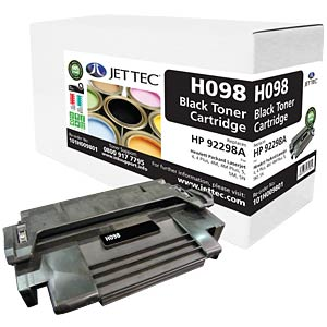 Toner - HP - black - 92298A - compatible JET TEC H098