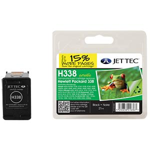 Ink - HP - black - 338 - refill JET TEC H338