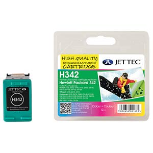Ink - HP - 3-color LC - 342 - refill JET TEC H342