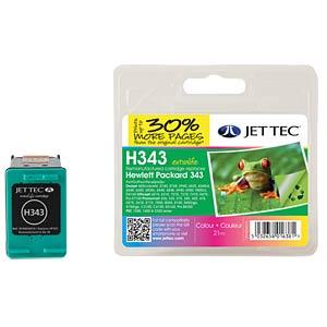 Tinte - HP - 3-farbig - 343 - refill JET TEC H343
